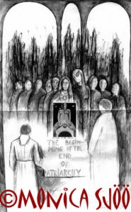 Cathedral Event (drawing, 1993)