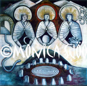 Matronae - Triple Mothers (mixed media, 1983)