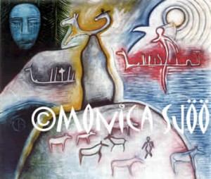 Nordic Mother of the Animals (oil, 1995)