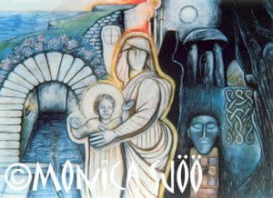 Celtic Mysteries – St Non's Well (oil, 1993)