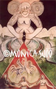 Sheela Na Gig Creation (oil on hardboard, 1978)