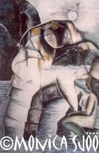 Gaia - Earthgiantess (oil, 1985)