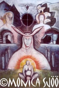 My Sons in the Spirit World (oil, 1989)