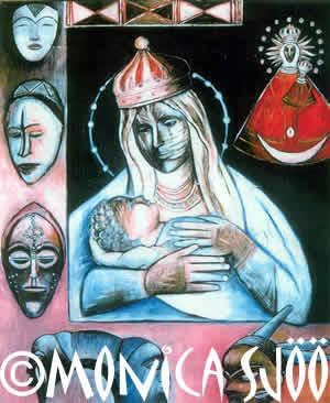 Black Madonna of Malta (oil, 1999)