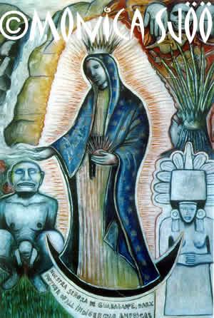Nuestra Senora De Guadalupe (oil, 2000)